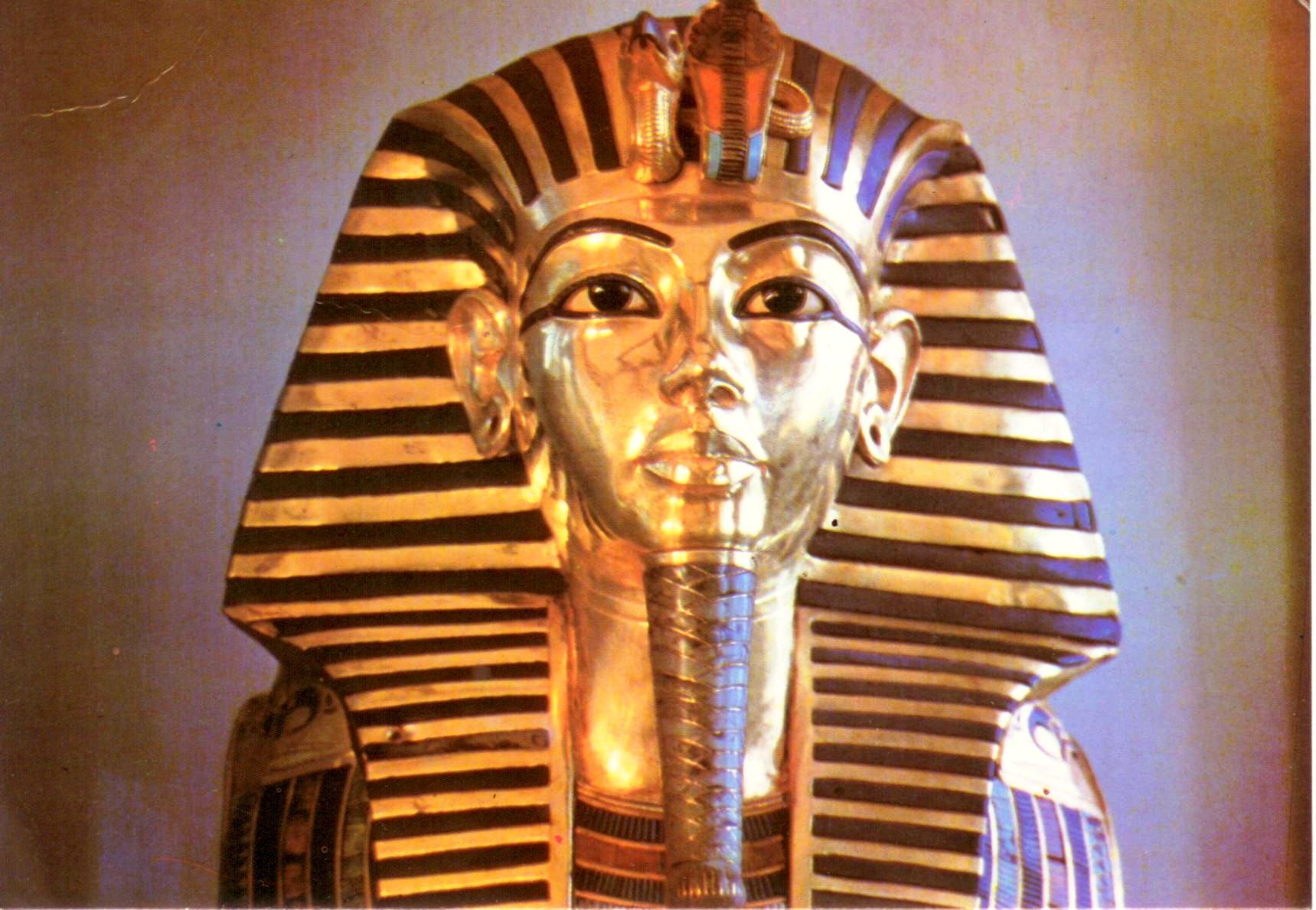 "Схема вышивки  ""Тутанхамон "": таблица цветов."